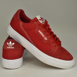 Adidas Continental Vulc Red White EF3525